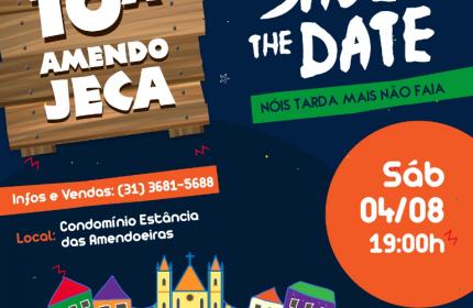 SAVE THE DATE – 10ª AMENDOJECA